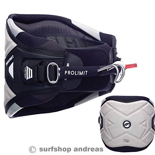 Pro Limit Type T Windsurf Hüft Trapez harness Größe L Grau 2017