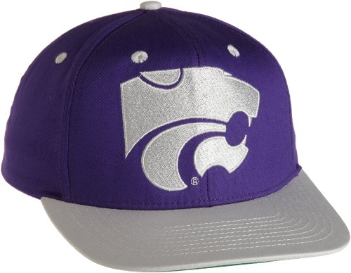 Eclipse Specialties NCAA Kansas State Wildcats Primary Logo College Snap Back Team Hat, Lila, One Size Team-logo Snap