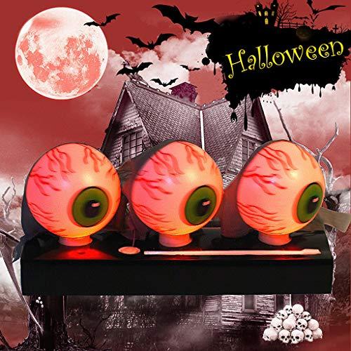 Gespenstische Sexy Braut Kostüm - Halloween Deko Horror,Halloween Terror Scary Augapfel Prop Dekoration Halloween Party Tricky Supplies,Bar,Spukhäuser,Garten,Partys Dekoration