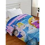 Athom Trendz Disney Princess Polyester Comforter, Blue