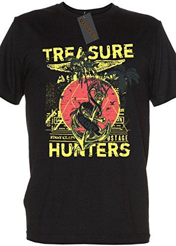 Renowned Ladies Shirt - The Treasure Hunters Original And Hostile Ladies Schwarz