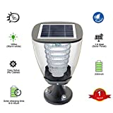 IFITech Solar Pillar Designer Light - Works for 2 Nights with 1 day Sun Charge