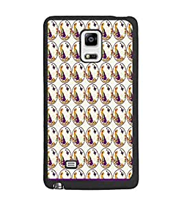 PrintDhaba Beautiful pattern D-1529 Back Case Cover for SAMSUNG GALAXY NOTE 4 (Multi-Coloured)