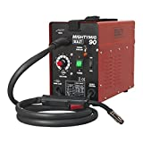 Sealey MIGHTYMIG90 90Amp No-Gas MIG Welder, 240 V, Red