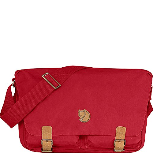 FjällRäven ÖVIK SHOULDER BAG Borsa a tracolla Deep Red