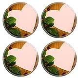 MSD 35354047 Dessous de verre ronds antidérapants en caoutchouc naturel en forme de...