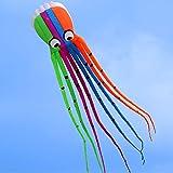 Docooler 8M Krake Kite/Einleiner/Kite Spielzeug Im Freien, Material: 190T Polyester