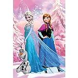 Disney Decke 500GR, 160 x 240 cm (für 90-cm-Bett), Motiv: Disneys Die Eiskönigin
