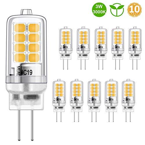 Bombilla LED G4 Blanco cálido 3W Equivalente bombillas