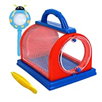 Millya Kids Bug Insect Catchers Collection and Viewer Insect Microscope, Adventure Magnifier, Backyard Nature Exploration Tool Educational Toys