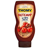 Thomy Ketchup, mit 80% Tomaten, 230 ml Squeeze Flasche, 4er Pack (4 x 230 ml)