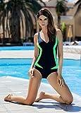Aqua-Speed GRETA Maillot de Bain Femme (3 Variations de couleur Tailles 36-48)