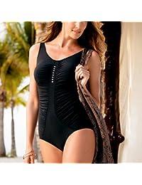 ANITA - maillot de bain une pièce comfort salomea noir