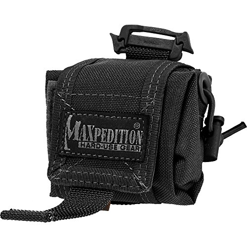 maxpedition-sac-pliable-rollypoly-faltbeutel-rollypoly-schwarz-taille-unique