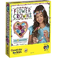 Creativity for Kids F901130 West Design Junior Selection Flower Crowns Creativity Large Kit for Kids, Multi-Color