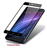 "Goelectro Mi redmi 4 / Xiaomi Redmi 4 / Redmi 4 / Mi 4 / Redmi4 / Mi4 (COMBO OFFER) All Sides Protection ""360 Degree"" Sleek Rubberised Matte Hard Case Back Cover ( Black ) + 2.5D curved 3D Edge to Edge Full Screen Tempered Glass Mobile Screen Protector - ( Black )"