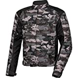 Spirit Motors Motorradjacke Motorradschutzjacke Motorradjacke Hellfire textil für Herren L