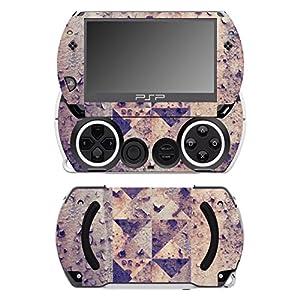 Disagu SF-14232_1045 Design Folie für Sony PSP Go – Motiv Rost geometrisch transparent