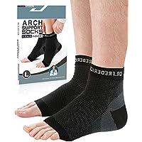 Preisvergleich für Dr. Fredericks originale orthopädische Plantarfasziitis-Socken - 1 Paar - Fußbandage zur Schmerzlinderung am Fußgelenk...