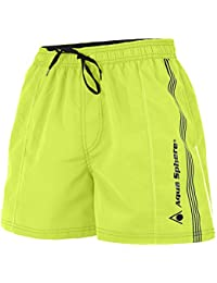 Bade Short Mississippi Herren Light Green Black