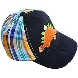 La Vogue Sombrero de Sol Niño/as Patrón Dinosaurio Naranja Circunferencia 52cm