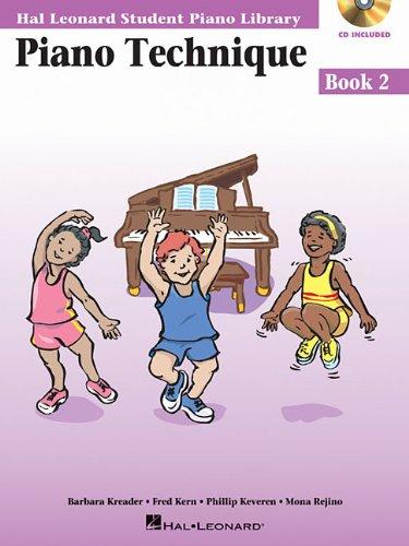 Piano Technique, Book 2 [With CD (Audio)] (Hal Leonard Student Piano Library)
