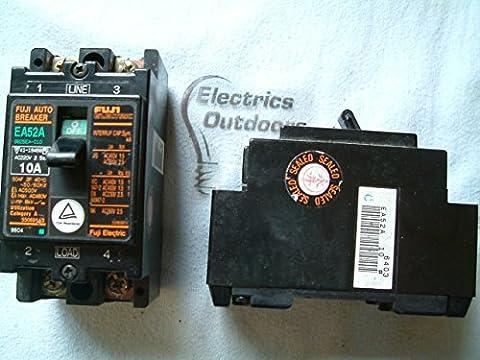 FUJI ELECTRIC 10 AMP DOUBLE POLE MCB CIRCUIT AUTO BREAKER 2 A