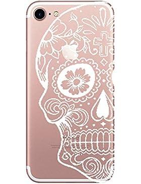 iPhone 7 Funda Carcasa Wouier® De Silicona TPU Bumper Diseño impresión Protección con Absorción de Impactos y...