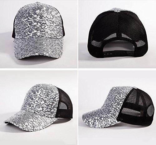XHBQM Casquette de baseball Printemps et été Automne Trendy Sequins Duck Cap Casquette Outdoor Hip Hop Hat Sun ( couleur : 1* ) 1*