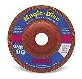 SUHNER 912781Magic Disc Premium Keramik Schleifscheibe, 4–1/5,1cm X 1/10,2cm X 7/20,3cm (10Stück)