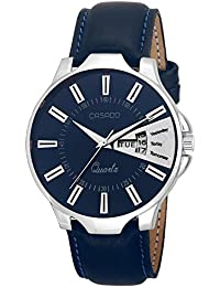 Casado Analog Blue Dial Men's Watch - Casado Blue Day And Date Watch 192