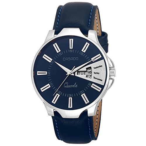 CASADO Analogue BLUE Dial DAY AND DATE Men's Watch 192