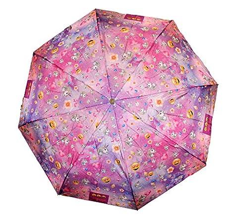 Emoji Smiley Einhorn Galaxy Taschenschirm Regenschirm