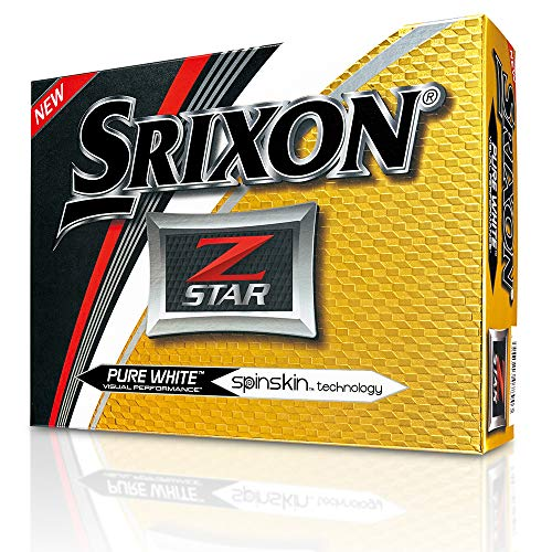 Srixon 10242069 Balle de Golf Mixte Adulte, Pure White,...