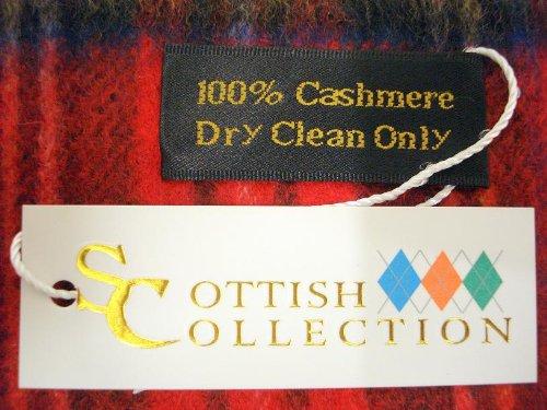 Tartanista - Écharpe - 100 % cachemire - 7 tartans disponibles - 152,5 x 30,5 cm Royal Stewart