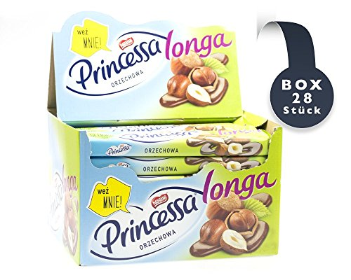 Princessa Nussriegel Longa (PAK 28x49g) von Nestle I Polnische Süßigkeiten