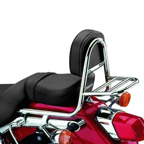 Motorrad Honda Gepäckträger (Sissy Bar + Gepäckträger Fehling Honda Shadow VT 125 C 99-09)