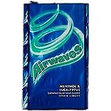 Airwaves Chewing-Gum sans Sucres aux Goûts Menthol & Eucalyptus 70 g