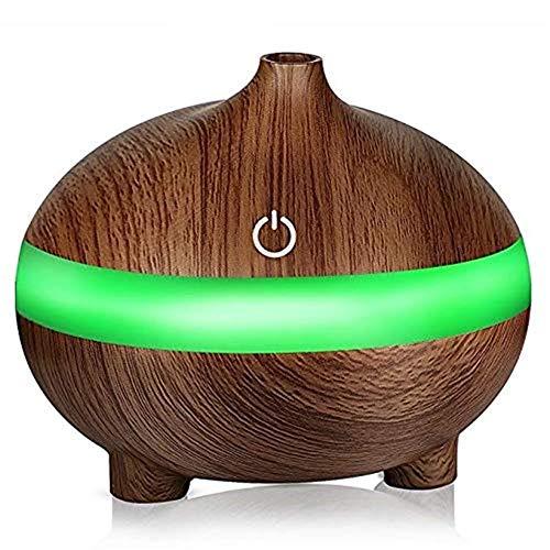 Humidificador Light Wood Essential Oil Diffuser 300ml