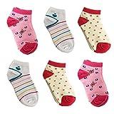 12er Libella Kinder Mädchen Sneaker Socken Kids Füßlinge Sneakersocken bunt