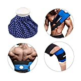 Cammate Ice Ice bag con tracolla, 22,9cm riutilizzabile caldo freddo per lesioni con fascetta Wrap terapia di massaggio per le spalle, schiena, termica e dolori addominali