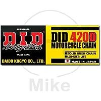 Kette DID 420 D 126 Glieder offen Clipschloß STAHL Antriebskette Motorradkette