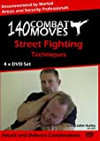 140 Combat Moves, 4 x DVD Self Defence Home Study Course