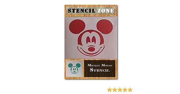 Mickey Mini Mouse AirRush Mylar KISS Peinture murale Art Pochoir