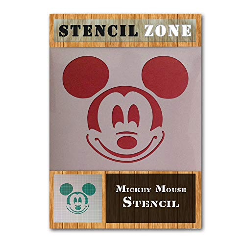 Mickey Mouse Disney Character Mylar Airbrush Painting Wall Art Crafts Stencil-M (Schablone Disney)