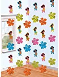 HULA GIRL String Decoration 6p