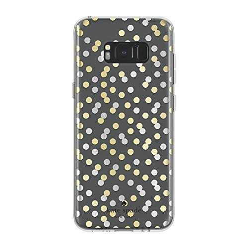 kate-spade-new-york-protective-hardshell-case-for-samsung-galaxy-s8-plus-all-over-confetti-dot-clear