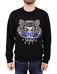 Kenzo Hommes Tigre Pull, Manches Longues Noir Pull 23c9a3c8aa4