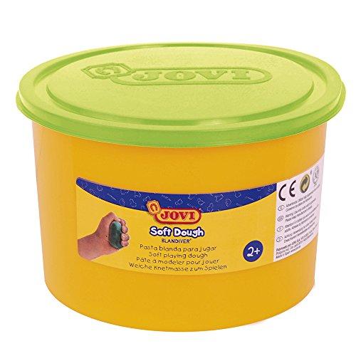 jovi-soft-dough-blandiver-bote-de-460-g-color-verde-fluor-46003f