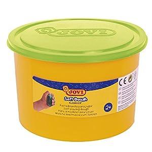Jovi - Soft Dough Blandiver, Bote de 460 g, Color Verde flúor (46003F)